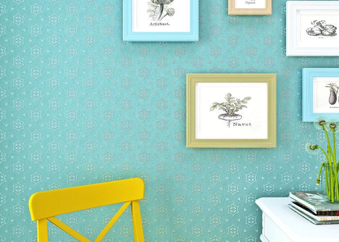 Das Schlafzimmer-Tapeten-moderne Wandverkleidung Kadmium-der grüne ...