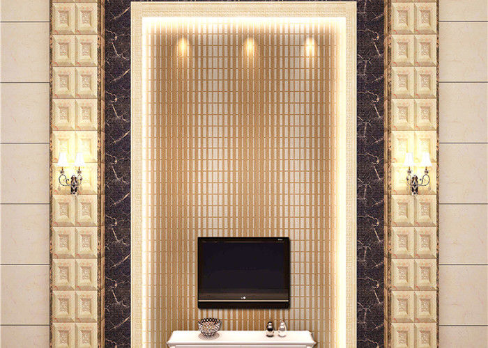 Economical Room Decoration Non - Woven Material Wallpaper Contemporary Wall Covering
