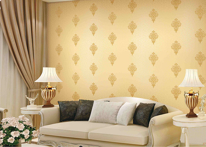 Economical Durable European Concise Style Wallpaper For TV / Sofa Background