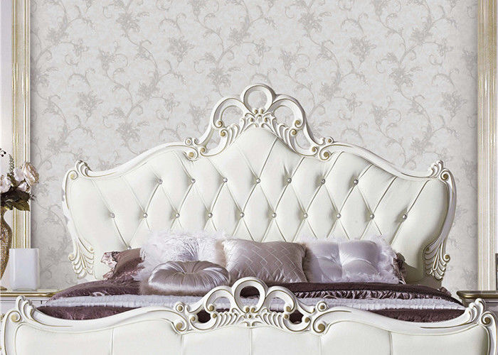 Moisture Resistant European Style Wallpaper Durable PVC Wallpaper For Bed Room / Living Room