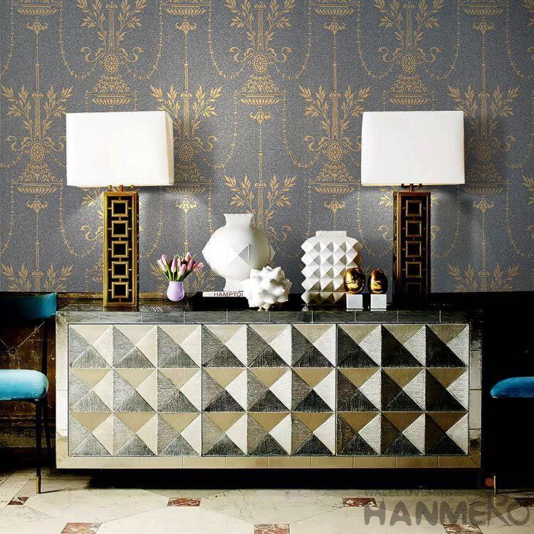 Pragung Scharen Moderne Art Tapete Mit Silber Streifen Muster 0 53 10m